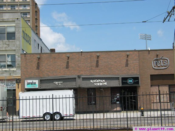 The exterior of the Paradise Rock Club before renovation.
