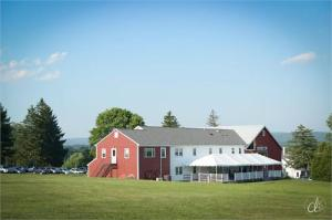 The Red Barn at Hampshire College.